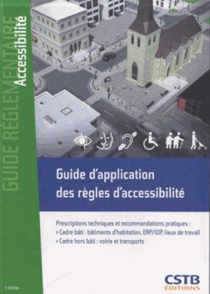 Guide d'application des règles d'accessibilité - cstb - 9782868915801 -