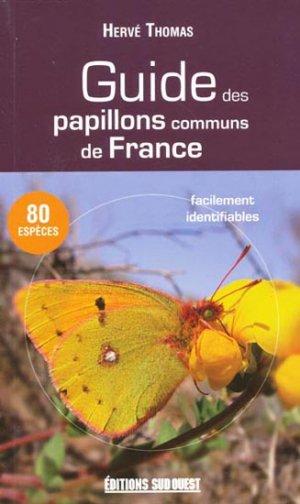 Guide des papillons communs de France - sud ouest - 9782879018553 -