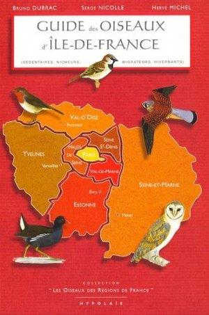 Guide des oiseaux d'Île-De-France - hypolais - 9782913307100 -