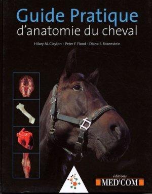 Guide pratique d'anatomie du cheval - med'com - 9782914738903 -