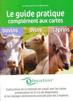 Guide pratique complément aux cartes Bovins - Ovins - Caprins - obsalim - 9782914741965