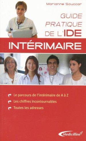 Guide pratique de l'IDE intérimaire - medicilline - 9782915220131 -