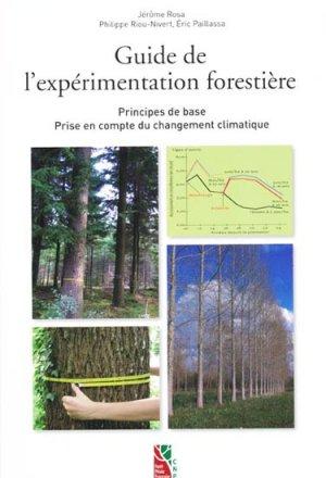 Guide de l'expérimentation forestière - institut pour le developpement forestier - 9782916525013 -