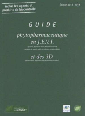 Guide phytopharmaceutique en J.E.V.I ( jardin, espaces verts, infrastructures) 2018-2019 - horticulture et paysage - 9782917465585 -
