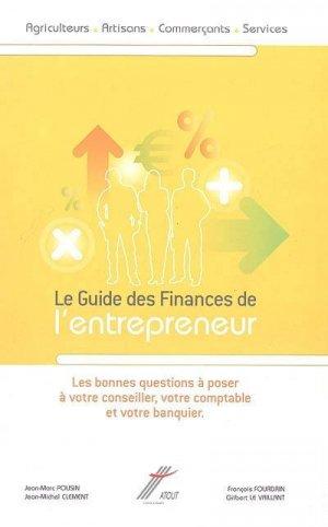 Guide des finances de l'entrepreneur - atout 86 - 9782950619839 -