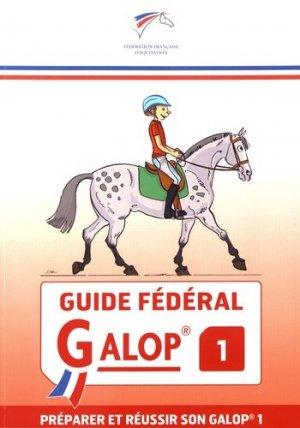 Guide fédéral galop 1 - federation francaise d'equitation - 9791095279020 -