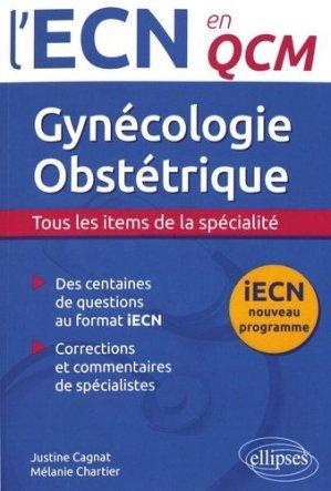 Gynécologie Obstétrique - ellipses - 9782340017009