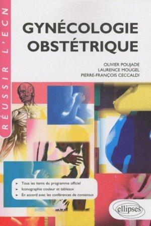 Gynécologie Obstétrique - ellipses - 9782729861544 -