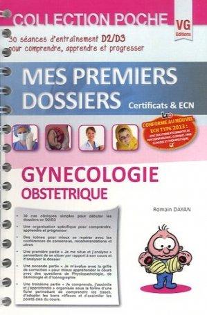 Gynécologie Obstétrique - vernazobres grego - 9782818311165 -