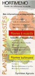 Hortimémo Plantes à massifs - synthèse agricole - 9782910340261 -