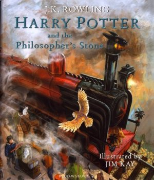 Harry Potter and the Philosopher's Stone: Illustrated Edition - bloomsbury - 9781408845646 -