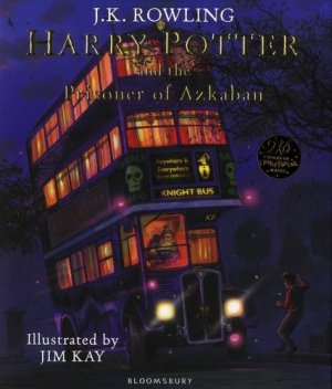 Harry Potter and the Prisoner of Azkaban: Illustrated Edition - bloomsbury - 9781408845660 -