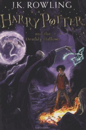 Harry Potter and the Deathly Hallows - bloomsbury - 9781408855713 -