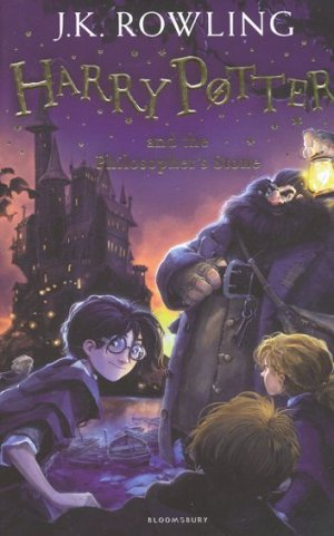 Harry Potter and the Philosopher's Stone - bloomsbury - 9781408855898 -