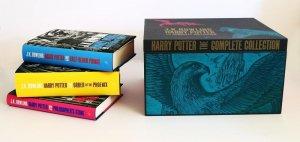 Harry Potter Adult Hardback Box Set - Hardcover - bloomsbury - 9781408868379 -