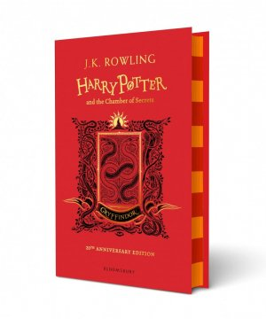 Harry Potter and the Chamber of Secrets - Gryffindor Edition - bloomsbury - 9781408898093 -