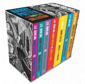 Harry Potter Boxed Set: The Complete Collection (Adult Paperback) - bloomsbury - 9781408898659 -