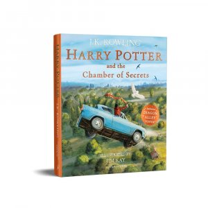 Harry Potter and the Chamber of Secrets: Illustrated Edition - bloomsbury - 9781526609205 -
