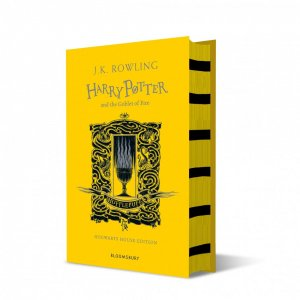 Harry Potter and the Goblet of Fire - Hufflepuff Edition - bloomsbury childrens books - 9781526610294 -