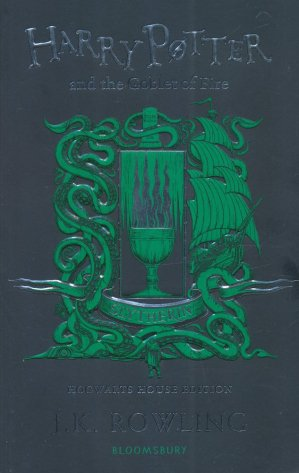 Harry Potter and the Goblet of Fire - Slytherin - bloomsbury - 9781526610348 -