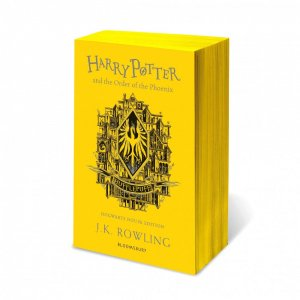 Harry Potter and the Order of the Phoenix - Hufflepuff Edition - bloomsbury childrens books - 9781526618177 -