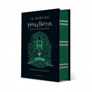 Harry Potter and the Order of the Phoenix - Slytherin Edition - bloomsbury childrens books - 9781526618207 -