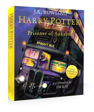 Harry Potter and the Prisoner of Azkaban Illustrated Edition - bloomsbury - 9781526622808 -