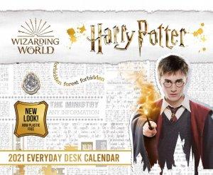Harry Potter 2021 Desk Block Calendar - Official Desk Block Format Calendar - danilo promotions - 9781838545413 -