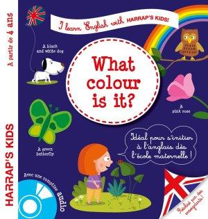 Harrap's I learn english : colors - harrap's - 9782035916099 -
