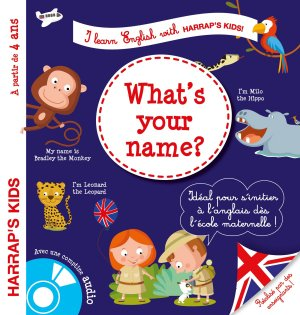Harrap's I learn english : what's your name ? - harrap's - 9782035917447