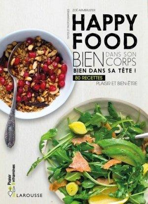 Happy food - larousse - 9782035933980 -