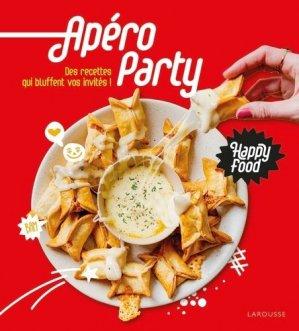 Happy Food Apéro - larousse - 9782035986146 -