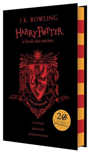 HARRY POTTER Tome 1 : Harry Potter à l'Ecole des Sorciers - Edition Collector 20e Anniversaire - gallimard - 9782075094016 -