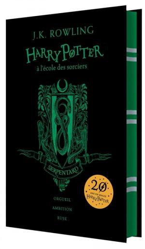 HARRY POTTER Tome1 : Harry Potter à L'Ecole des Sorciers - Edition Collector 20e Anniversaire - gallimard - 9782075094450 -