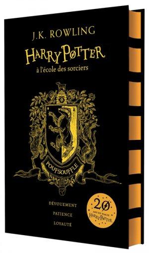 HARRY POTTER Tome 1 : Harry Potter à l'Ecole des Sorciers - Edition Collector 20e Anniversaire - gallimard - 9782075094504 -