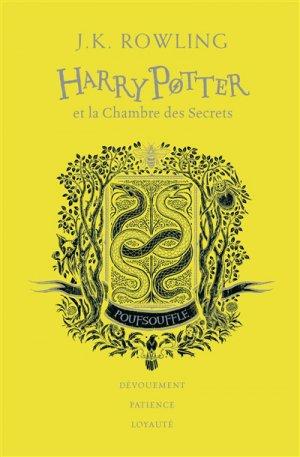 HARRY POTTER Tome 2 : Harry Potter et la chambre des secrets - Edition Collector 20e Anniversaire - gallimard - 9782075117395 -