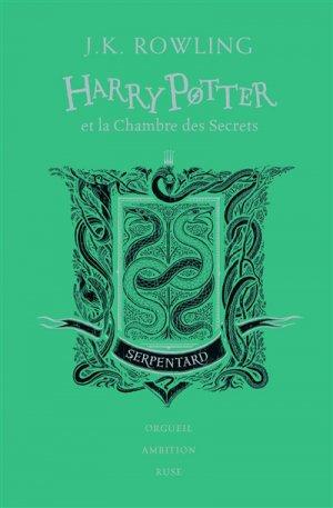 HARRY POTTER Tome 2 : Harry Potter et la chambre des secrets - Edition Collector 20e Anniversaire - gallimard - 9782075117449 -