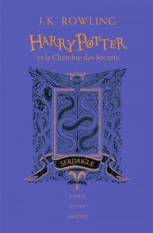 HARRY POTTER Tome 2 : Harry Potter et la chambre des secrets - Edition Collector 20e Anniversaire - gallimard - 9782075117494 -
