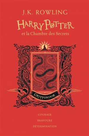 Harry Potter Tome 2 : Harry Potter et la chambre des secrets - Edition Collector 20e Anniversaire - gallimard - 9782075117548 -