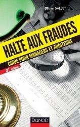 Halte aux fraudes - Dunod - 9782100708017 -