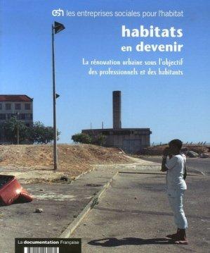 Habitats en devenir - la documentation francaise - 9782110060181 -