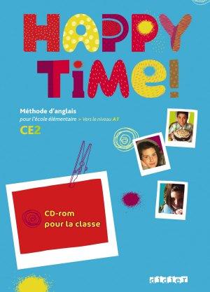 Happy Time CE2 : Coffret 2CD audio et 1 DVD Classe - didier - 9782278063734 -