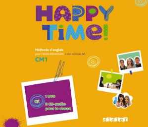Happy Time CM1 : Coffret 3 CD Audio et 1 DVD Classe - didier - 9782278073191 -
