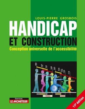 Handicap et construction - le moniteur - 9782281144055 -