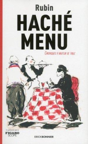 Hâché menu - Erick Bonnier - 9782367601069 -