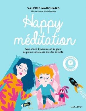 Happy méditation - Marabout - 9782501112123 -