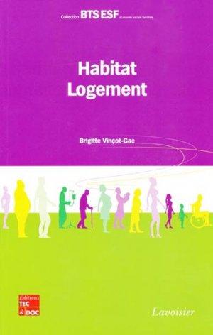 Habitat-Logement - tec et doc / em inter / lavoisier - 9782743012847 -