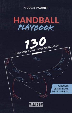 Handball playbook - amphora - 9782757605011 -