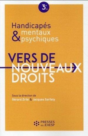 Handicapés mentaux et psychiques Vers de nouveaux droits - presses de l'ehesp - 9782810904150 -
