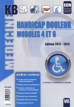 Handicap Douleur Modules 4 et 6 - vernazobres grego - 9782818306284 -